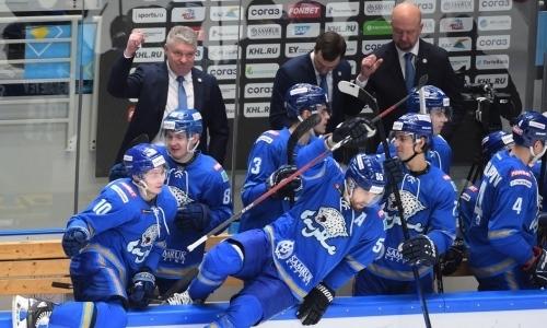 «Барыс» узнал приятные новости от КХЛ о ситуации с проведением плей-офф
