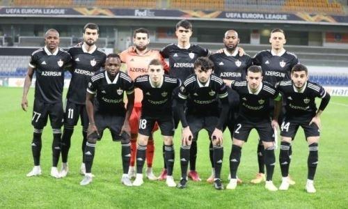 Азербайджан увеличил отрыв от Казахстана в рейтинге УЕФА