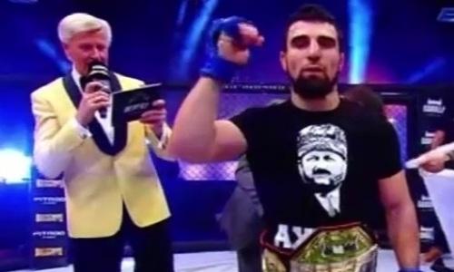 Главный бой первого турнира промоушена Хабиба завершился сенсационным поражением чемпиона