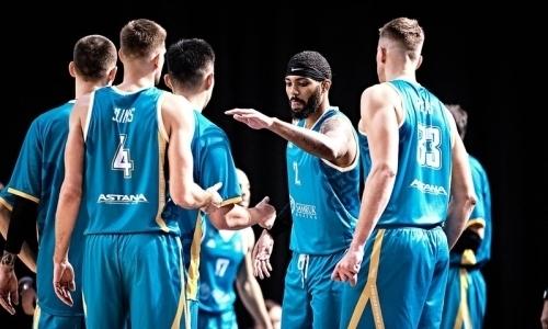 «Астана» дома проиграла «Нижнему Новгороду» в матче ВТБ