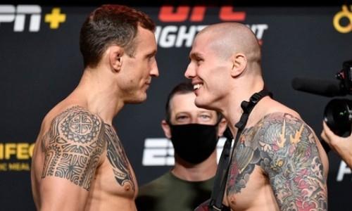 Прямая трансляция турнира UFC on ESPN 19 с главным боем Херманссон — Веттори