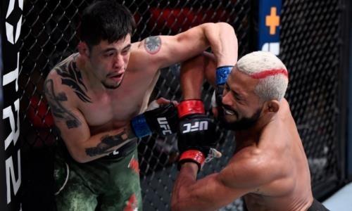 Видео полного боя Фигейредо — Морено с кровавой рубкой за титул чемпиона UFC
