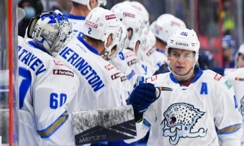 Суперстар в действии. «Барыс» победил «Трактор» в гостевом матче КХЛ