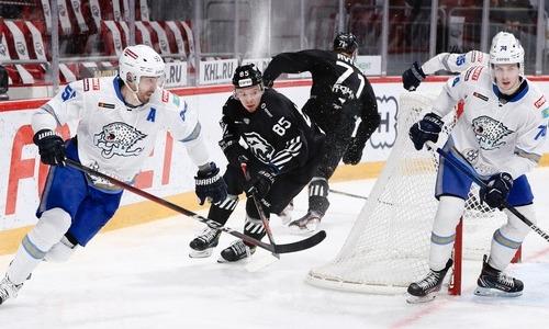 В «Тракторе» признали превосходство «Барыса» над российским клубом в прошедшем матче КХЛ