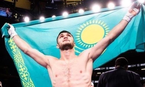 BoxRec оценил бой непобежденного казахстанца за титул чемпиона мира в андеркарде у Головкина