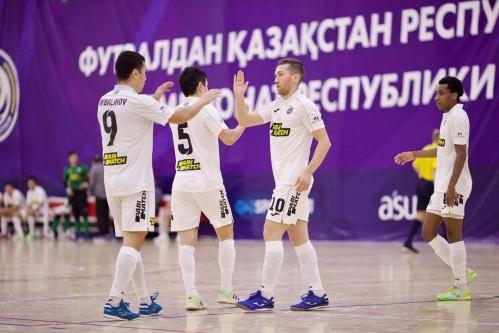 «Кайрат» и «Окжетпес» забили 14 мячей на двоих в матче чемпионата РК
