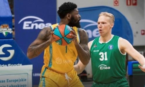 «Астана» впервые в истории проиграла «Зелене Гуре» в матче ВТБ
