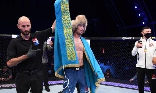 Боец UFC Шавкат Рахмонов выбрал себе команду в Казахстане. Фото