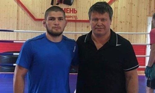 Появилось видео борьбы между Олегом Тактаровым и Хабибом Нурмагомедовым