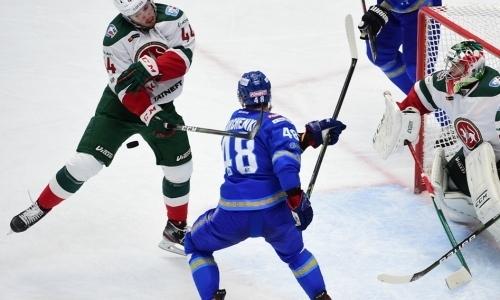 Хоккеисты «Барыса»? КХЛ определила лучших игроков недели