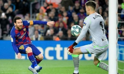 Прямая трансляция матча Ла Лиги «Барселона» — «Реал Сосьедад»