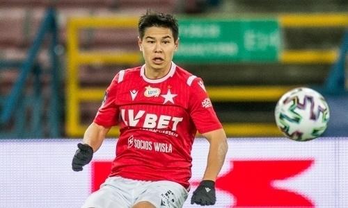 Устроил танцы с соперником. Эффектный ассист казахстанского футболиста стал хитом в Европе. Видео