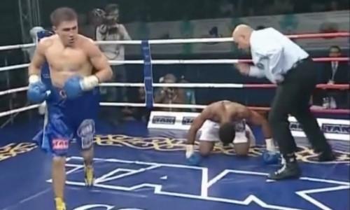 Повторит сШереметой? Десять лет назад Головкин ярким нокаутом завершил свой единственный профи-бой вКазахстане. Видео