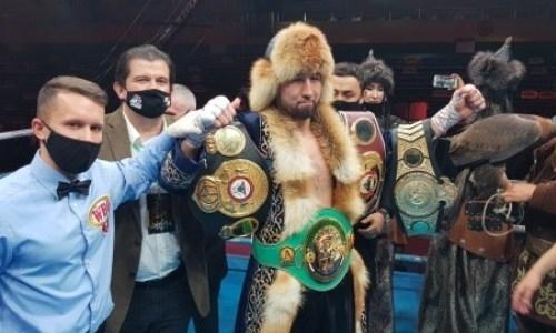 WBC обратился к Айдосу Ербосынулы после победы нокаутом в бою за три титула