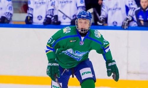 Молодой нападающий с опытом игры в ВХЛ пополнил «Темиртау»