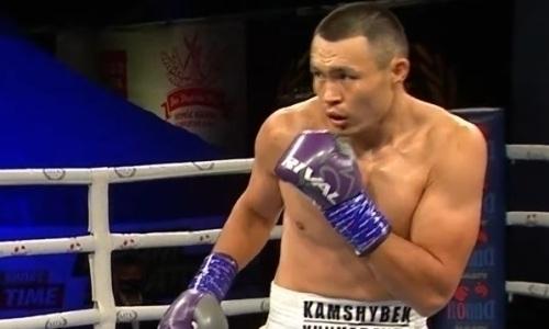 Капитан сборной Казахстана нокаутом выиграл второй бой в профи