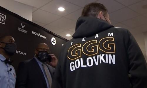 Геннадий Головкин приехал на бой за два титула чемпиона мира. Видео