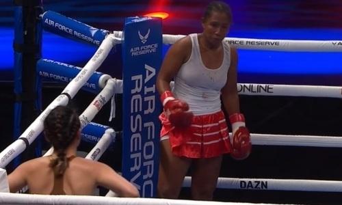 Титульный бой в андекарде Головкин — Шеремета закончился избиением чемпионки мира