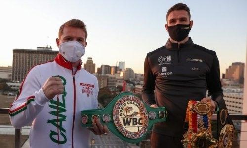Прямая трансляция боя Сауль «Канело» Альварес — Каллум Смит за титулы WBA и WBC