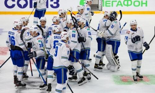«Барыс» объявил состав на выездной матч КХЛ с «Куньлунь Ред Стар»