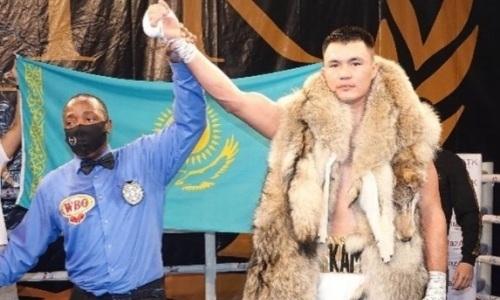 Какое место в мировом рейтинге занимает Камшыбек Кункабаев после второй победы в профи