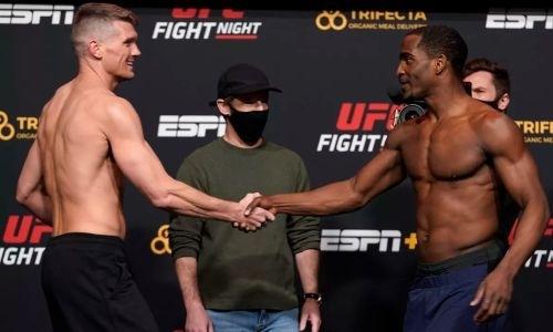 Прямая трансляция турнира UFC Fight Night 183 с главным боем Томпсон — Нил