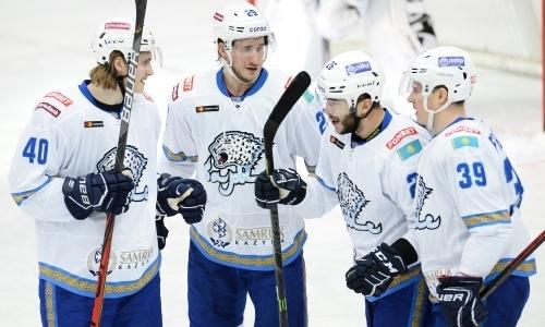 Автор победной шайбы «Барыса» попал в тройку лучших игроков дня в КХЛ