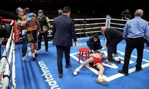 Али Ахмедов отстранен от боев после поражения тяжелым нокаутом