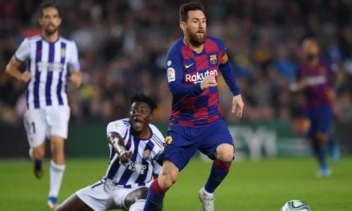 Прямая трансляция матча Ла Лиги «Вальядолид» — «Барселона»