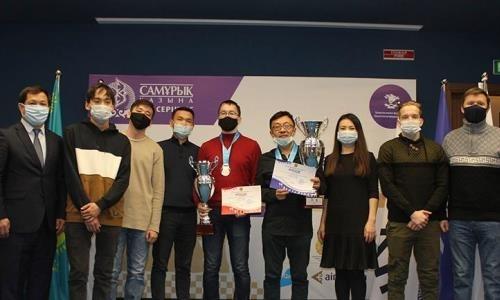 Определились победители чемпионата Казахстана по классическим шахматам среди мужчин