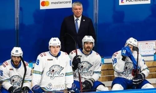 Главный тренер «Барыса» рассказал, как нужно побеждать «Авангард» в КХЛ