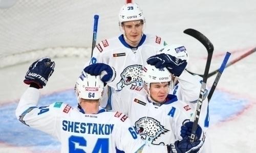 Видео шайб матча КХЛ «Авангард» — «Барыс» 1:3