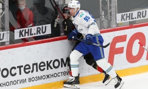 «Уже в самом начале». В России отметили серьезность намерений «Барыса» в матче с «Авангардом»