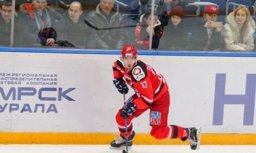Конкурент «Барыса» за место в плей-офф КХЛ подписал нападающего
