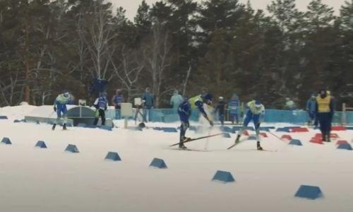 «Забыли, как стоять на ногах». Eurosport смеется над эпичными казахстанскими лыжниками. Видео