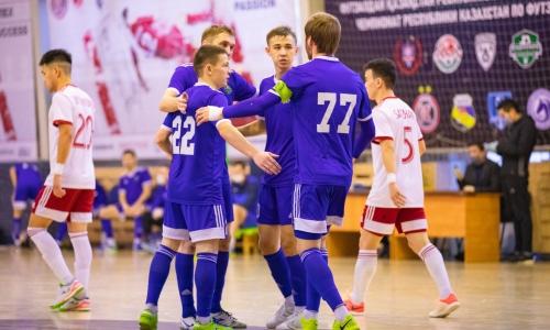 «Байтерек» переиграл «Окжетпес» в матче чемпионата РК