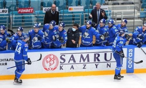 КХЛ отметила ударный выезд «Барыса» и их победу над «Амуром»