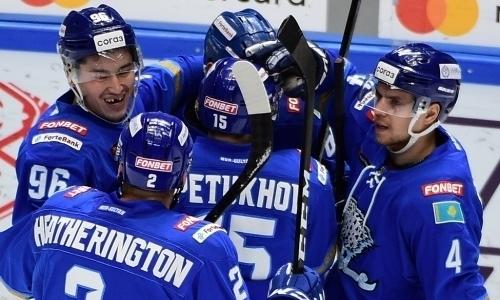 В «Барысе» посчитали пять побед в КХЛ подряд не пределом для клуба