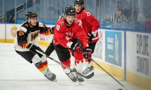 Сборная Канады обновила рекорд, установленный в матче с Казахстаном