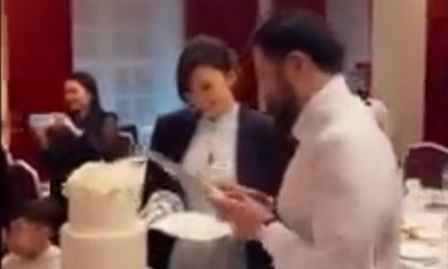 Появилось видео со свадьбы Сабины Алтынбековой