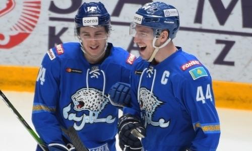 Сразу два хоккеиста «Барыса» признаны лучшими игроками недели КХЛ на своих позициях