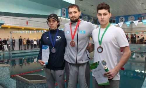 Обладатель лицензии на ОИ-2020 из Казахстана выиграл турнир по плаванию за рубежом