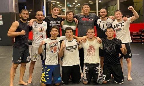 «Всё идёт по плану». Казахстанские бойцы UFC продолжают подготовку к поединкам в ОАЭ