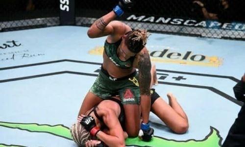 «Один из самых больших за все время». Поражение первой казахстанки в UFC назвали главным апсетом 2020 года