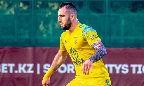 «Полностью заслужил». Футболист «Астаны» получил признание в Армении