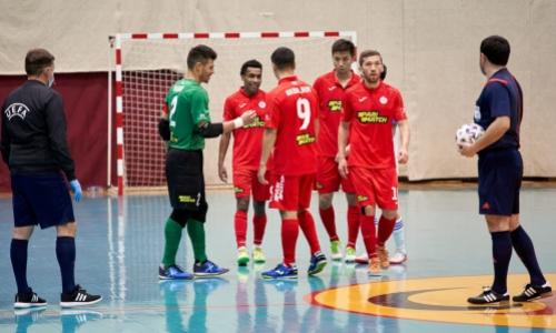 Представлена заявка «Кайрата» на матч 1/16 финала Лиги Чемпионов