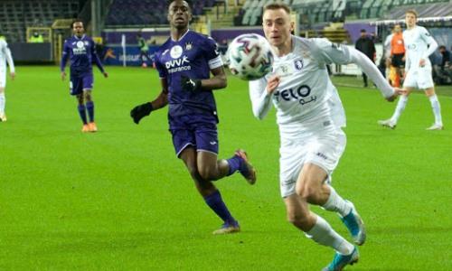 Вороговский признан одним из лучших игроков своего клуба в матче чемпионата Бельгии