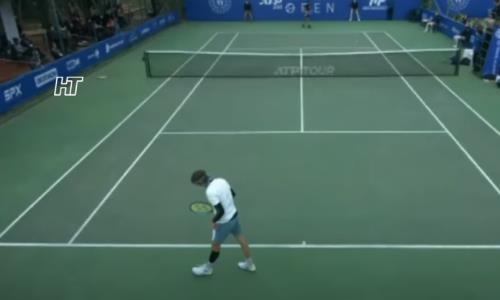Видеообзор матча за выход в финал турнира в Анталье Бублик — Шарди 6:4, 6:7, 6:3