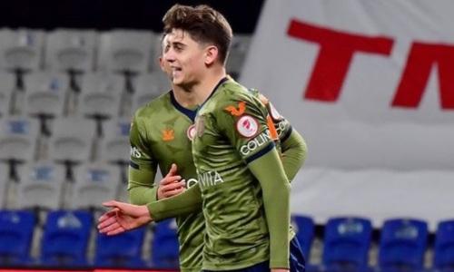 Уроженец Казахстана прокомментировал свой первый гол за чемпиона Турции