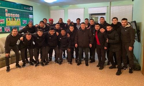 «Актобе» отправился в Афины на матч Лиги Чемпионов